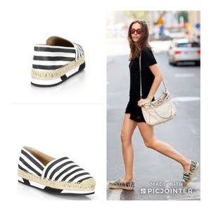 Diane Von Furstenberg Striped Spadrilles Shoes 7